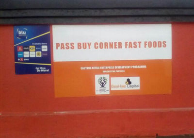 Pass buy Mma Glodina's Fast Foods shop in Zola North, Soweto