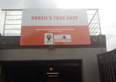 Come pick up some snacks for the road at Khosie's Tuck Shop in Orlando East, Soweto